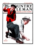 """""""Grandpa Goes Knuckles Down """" Country Gentleman Cover  March 10  1923"""