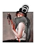 """Woman with Baton ""February 28  1925"