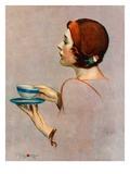 """""""Cup of Java,""""April 30, 1932 Giclée par Penrhyn Stanlaws"""