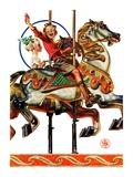 """""""Carousel Ride """"September 6  1930"""