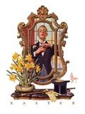 """Primping in Mirror ""April 11  1936"