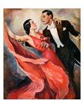 """Ballroom Dancing,""April 10, 1937 Giclée par John LaGatta"