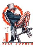 """Sleeping Uncle Sam ""July 5  1924"