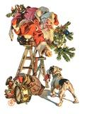 """""""Santa Up a Ladder """"December 20  1930"""