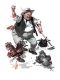 """""""Shoo Chickens ! """"June 2  1923"""