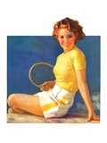 """Tennis Time-Out ""July 20  1935"