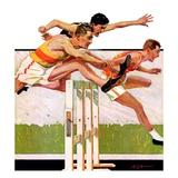 """""""Hurdlers """"May 4  1935"""