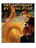 """""""Photo Opportunity """" Saturday Evening Post Cover  December 4  1937"""