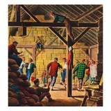 """""""Square Dance in the Barn """"November 1  1947"""