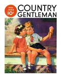 """""""Kiss for Ice Cream """" Country Gentleman Cover  June 1  1936"""
