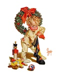 """Christmas Stocking Joy ""December 24  1938"