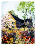 """""""Home in Springtime """"April 1  1930"""