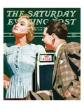 """""""'No Sale' """" Saturday Evening Post Cover  May 6  1939"""