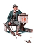 """Eighteenth Hole ""August 8  1925"
