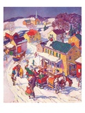 """""""Christmas in Town """"December 1  1940"""
