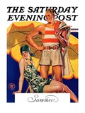 """Summertime  1927 "" Saturday Evening Post Cover  August 27  1927"