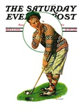 """Bee and Putter "" Saturday Evening Post Cover  September 8  1928"