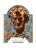 """Bronze Lincoln ""February 12  1938"