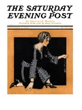 """Broken Pearl Necklace "" Saturday Evening Post Cover  November 17  1923"