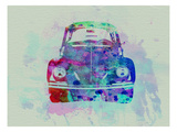 VW Beetle Watercolor 2