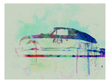 Porsche 356 Watercolor