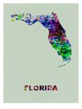Florida Color Splatter Map