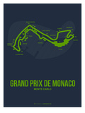 Monaco Grand Prix 2 Reproduction d'art par NaxArt