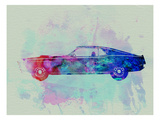 Ford Mustang Watercolor 1