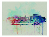 Ferrari Testa Rossa Watercolor 2