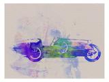 Bugatti Type 35 R Watercolor 2