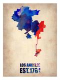 Los Angeles Watercolor Map 1