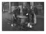 Breakfast Outside the Tacoma Commons Mission  1930