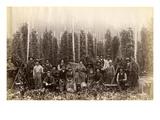 Hop Fields Near Olympia (ca 1889)