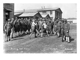 US Army  Company F  44th Infantry  Boxing  Camp Lewis  1918
