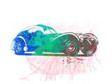 Bugatti Atlantic Watercolor 1