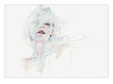 Ghost in Your Mind Reproduction d'art par Agnes Cecile