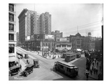 Second Avenue and Yesler Way  Seattle  1916