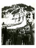 Milwaukee Road Ski Bowl  ca 1946