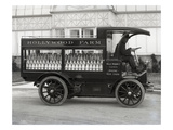 Hollywood Farm Milk Delivery Truck  Seattle  1913
