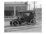 Vintage Automobile  Seattle  1915
