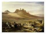 The Acropolis  Athens  Greece  View from East  1852
