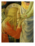 Mary Magdalene Kissing Christ's Feet  from the Deposition of Christ  1435 (Detail)