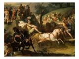 Games in Honour of Funeral of Patroclus - Book 23 of Iliad (Epic Poem by Homer) (Detail)