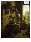 Intérieur D'Une Cuisine (Interior of Kitchen)  1815 (Detail)