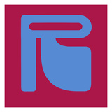 Letter R Blue