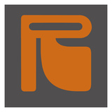 Letter R Orange