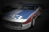 Nissan Dutsun Racing Colors Tableau sur toile par NaxArt