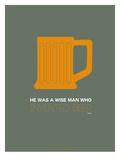 Orange Beer Mug