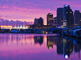 Canada  British Columbia  Vancouver  City View and Canada Place from Coal Harbour