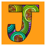 Letter J